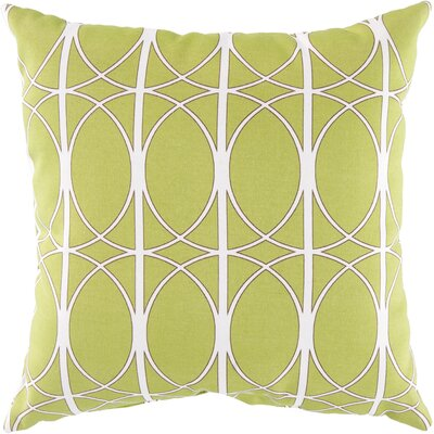 Ballenton Outdoor Pillow Cover Size: 13 H x 20 W x 4 D, Color: Lime