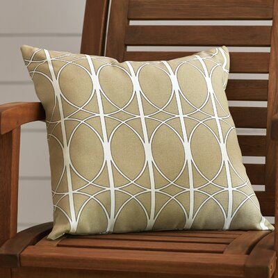 Ballenton Outdoor Pillow Cover Size: 18 H x 18 W x 4 D, Color: Charcoal