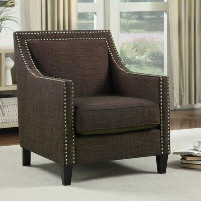 Rotterdam Arm Chair Upholstery: Chocolate