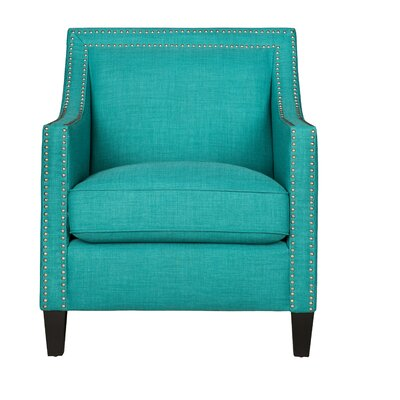 Rotterdam Armchair Upholstery: Teal