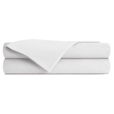Bog Water Pillowcase Size: King, Color: White