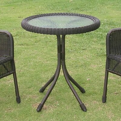 Narron Round Table Finish: Antique Black