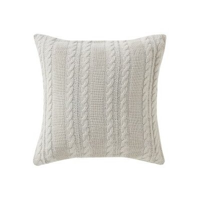 Machias Throw Pillow Color: SIlver