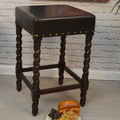 Beech 25 Bar Stool with Cushion