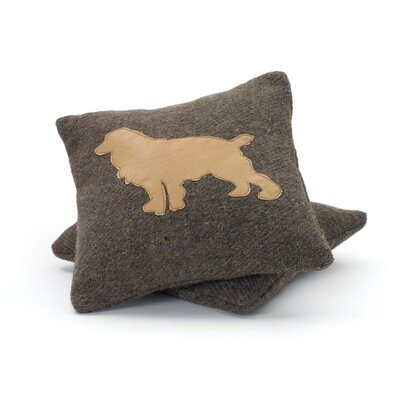 Bergfield Puppy Wool Throw Pillow