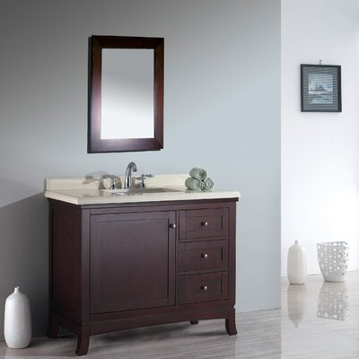Anzell 42 Single Bathroom Vanity Set