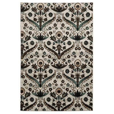 Bluffridge Blue Area Rug Rug Size: 5 x 7