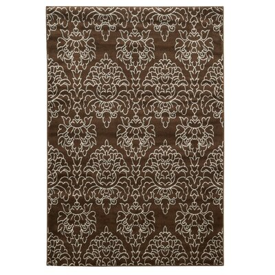 Kristine Brown Area Rug Rug Size: 8 x 10