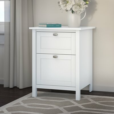 Broadview 2 Drawer Vertical Filing Cabinet Finish: Pure White THRE1679 25277023