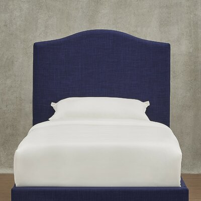 Winstead Twin Upholstered Panel Headboard Upholstery: Twilight Blue