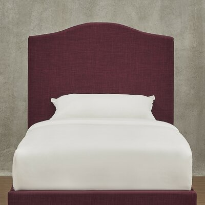 Winstead Twin Upholstered Panel Headboard Upholstery: Tawny Port