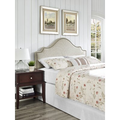 Clara Upholstered Panel Headboard Size: King / California King, Upholstery: Rice
