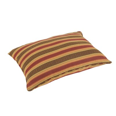 Pottsgrove Stripes Piped Indoor/Outdoor Sunbrella Floor Pillow