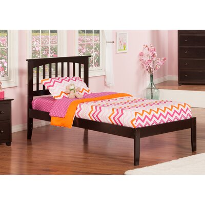 Deandre Platform Bed Color: Caramel Latte, Size: Twin
