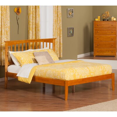 Deandre Platform Bed Color: Caramel Latte, Size: Queen