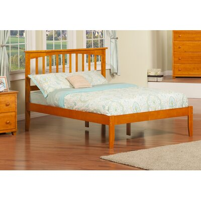 Deandre Platform Bed Color: Caramel Latte, Size: Full