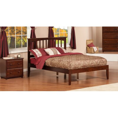Deandre Platform Bed Size: Full, Finish: Antique Walnut