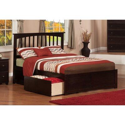 Brookline Storage Platform Bed Finish: Espresso, Size: Full