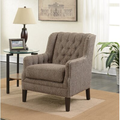 Grayslake Tufted Wingback Chair