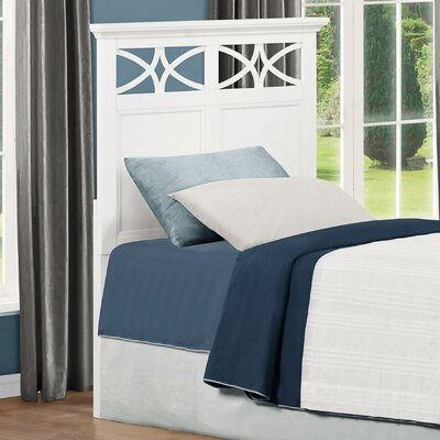 Zee Panel Headboard Size: Full/Queen, Color: White
