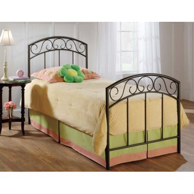 Bush Creek Panel Bed Size: Full, Color: Copper Pebble