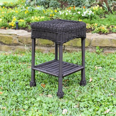 Wyndmoor  Side Table Finish: Antique Black