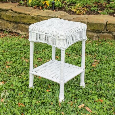 Wyndmoor  Side Table Finish: White