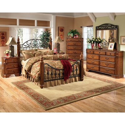 Banstead Four Poster Configurable Bedroom Set