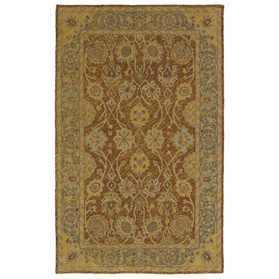 Dittmar Handmade Brick Indoor/Outdoor Area Rug Rug Size: Rectangle 4 x 6