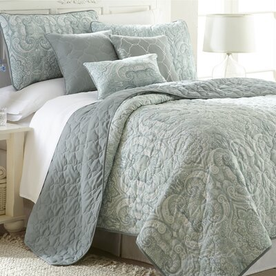 Barr 6 Piece Quilt Set Size: King