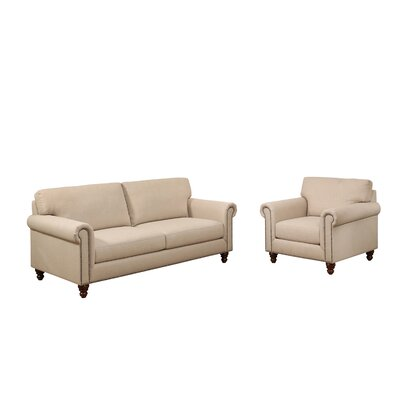 Bensenville Fabric Sofa and Armchair Set