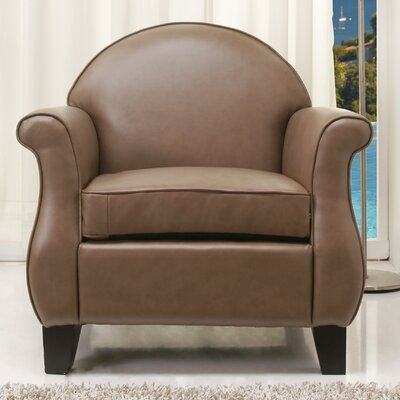 Benelva Armchair Color: Taupe