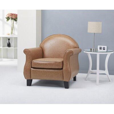 Benelva Armchair Color: Caramel