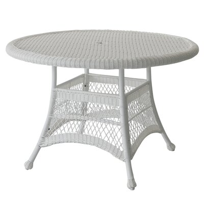 Busch Dining Table Finish: White