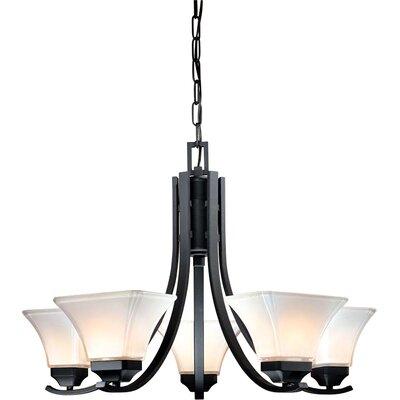 Byrnes 5-Light Shaded Chandelier