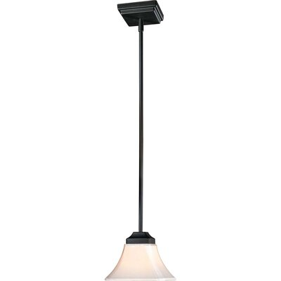 Byrnes 1-Light Mini Pendant Finish: Black