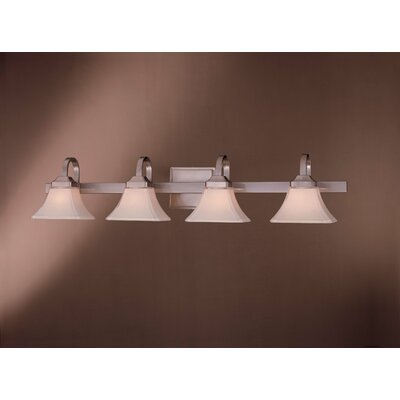 Byrnes 4-Light Vanity Light Finish: Brushed Nickel