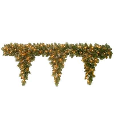 Pine 3 Teardrop Garland