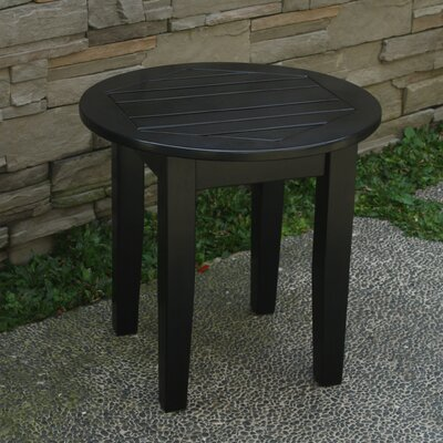 Fordyce End Table Color: Black