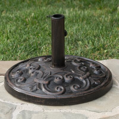 Dimmick Outdoor Resin Freestanding Umbrella Base