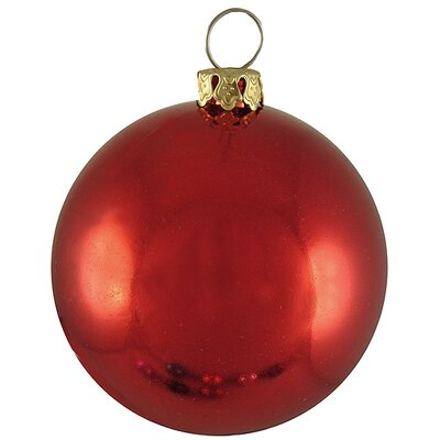Commercial Shatterproof Christmas Ball Ornament Size: 3.25