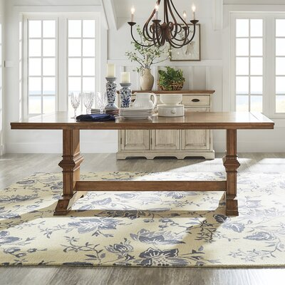 Fortville Dining Table Base Color: Oak