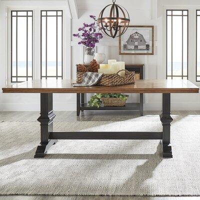 Fortville Dining Table Base Finish: Antique Black