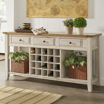Fortville Buffet Finish: Oak/Antique White