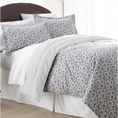 Bartlett Floral Comforter Set Size: King