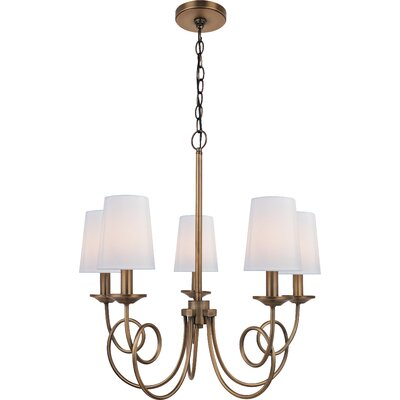 Barry 5-Light Shaded Chandelier