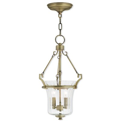 Bolindale 2-Light Metal Foyer Pendant