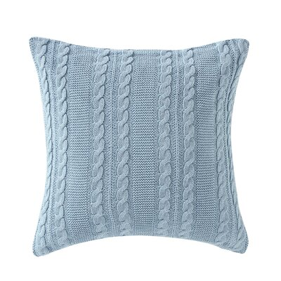 Machias Euro Sham Color: Spa Blue