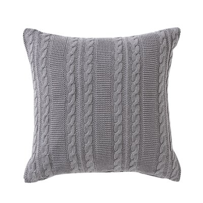 Machias Euro Sham Color: Gray