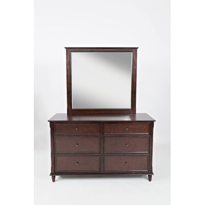 Beatrice 4 Drawer Double Dresser with Mirror